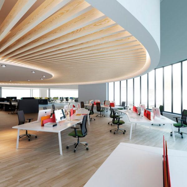 Bella Proporzione - Mobiliario de Oficina en Valladolid - Mesas de Oficina