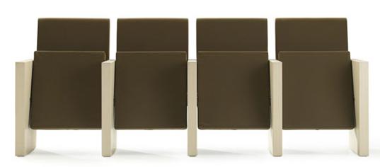 Bella Proporzione - Mobiliario de Oficina en Valladolid - Salones de actos - butaca modelo Lira