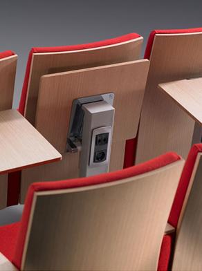 Bella Proporzione - Mobiliario de Oficina en Valladolid - Salones de actos - butaca modelo Teatro