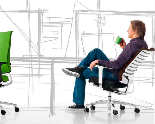 Bella Proporzione - Mobiliario de Oficina en Valladolid - Sillón X-Code