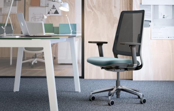 Bella Proporzione - Mobiliario de Oficina en Valladolid - Silla Sense